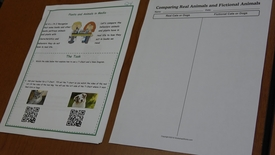 Kindergarten Graphic Organizers for Science Extensions Q4