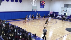 Boys basketball vs. village school 2