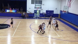Girls basketball vs. village school3
