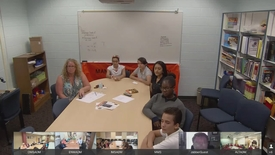 Edward Bloor Video Conference