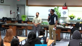 Burmese Python Video Conference for HS Biology (session 2. period 3)
