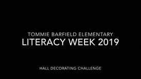 TBE Literacy Week Halls