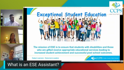 CCPS Virtual Recruitment Series - ESE Assistants