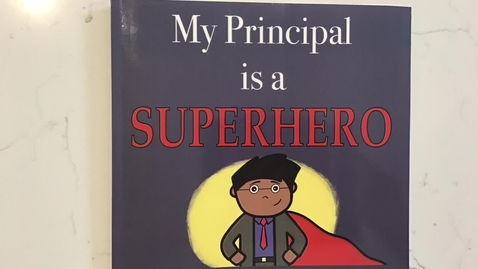 My Principal is a Superhero