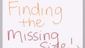 Finding the missing side